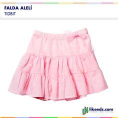 Falda Aleli de Tidbit para nenas.  Para conocer talles, colores y comprar ¡Hacé click en la imagen!