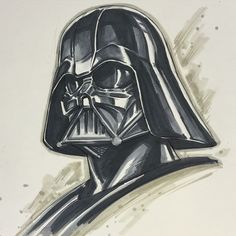 Star Wars - Darth Vader by Alvin Lee *