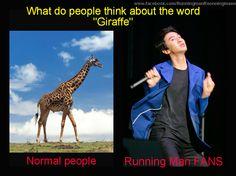 Normal people VS Running Man Fans ;))