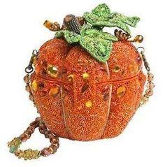 Mary Frances pumpkin bag - I know someone who'll LOVE this bag!