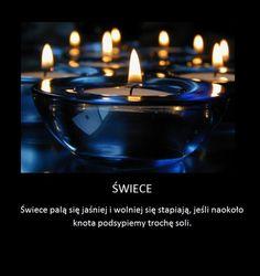 Trik na jaśniej i dłużej świecące świece!