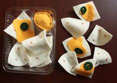 Fairview Place: Felt Food Nacho set. $12.50 on Etsy