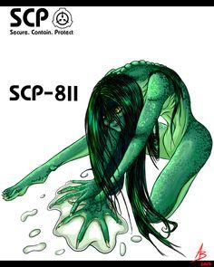 SCP 811 The Swamp Woman Mini Comic (4)   Scp. Scp 076. Anime