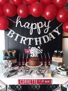 Cars Themed Birthday Party Ideas Via BirdsParty Birdsparty