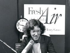 Terry Gross, back in the day