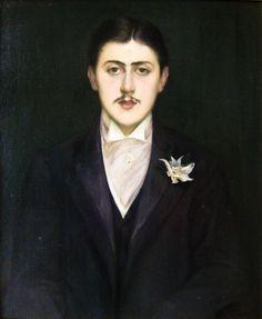 Jacques-Emile Blanche | Portrait of Marcel Proust, 1892