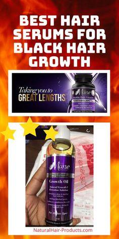 9 Best Hair Growth Serum for Black Hair [FAST-ACTING]