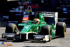 Rio Haryanto, Caterham Racing, GP2: Monaco 2014, GP2