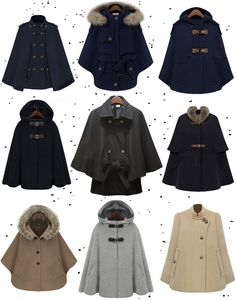 Cape Coats...still haven't found one here