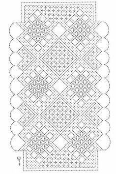 Resultado de imagen de patrones de bolsos de encaje de bolillos Hairpin Lace Crochet, Crochet Motif, Crochet Shawl, Crochet Edgings, Bobbin Lace Patterns, Bead Loom Patterns, Lace Earrings, Lace Jewelry, Bobbin Lacemaking