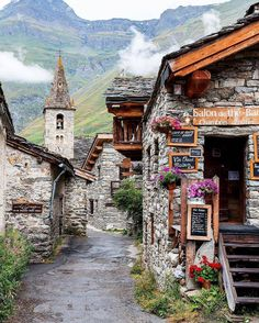 Bonneval-Sur-Arc, Rhone-Alpes, France
