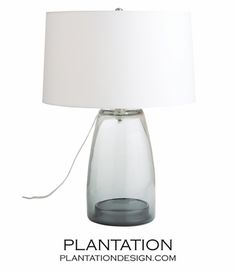 Free Shipping And Returns On Uttermost Seeded Glass Table Lamp At Nordstrom A Grey Linen Shade Tops Smoky Accented W