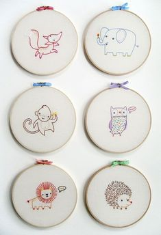One thing that many parents find a necessity in a nursery is the alphabet. There must be thousands of versions of those 26 letters waiting to adorn your child's wall. Today I have a lovely embroidered example to show you. For the crafty amongst you the following alphabet comes sold as individual PDF patterns or … #EmbroideryIdeas