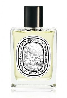 Eau Duelle/diptyque                         Vanilla is refined between shadow and light. Brightened up by a vibrant top note of cold spices, then made sensual by black frankincense, its powers of seduction are devilishly engaging.