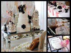 Coco Chanel wedding theme