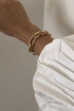 Minimal Jewelry, Simple Jewelry, Cute Jewelry, Gold Jewelry, Jewelry Bracelets, Chain Bracelets, Pandora Bracelets, Bridal Jewelry, Diy Jewelry