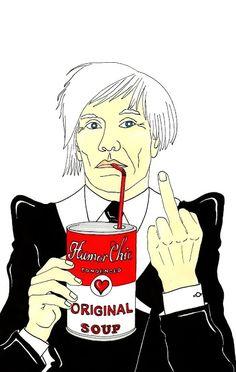 "Humor Chic: Humor Chic ART - Andy Warhol ""Original Soup"" by aleXsandro Palombo"