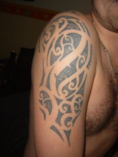 My #Maori tattoo. Made by Sakura Tattoo Amsterdam. Best Tattoo shop in Amsterdam