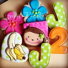 monkey cookies   Via lia Maravilla