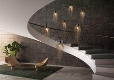 Loomiosa Ltd. desigings and manufactures premium light fixtures Pendant Lamp, Light Fixtures, Pearl, Leaves, Club, Interior Design, Lighting, House, Nest Design