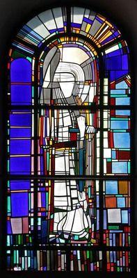 Georg Meistermann Köln, Kath. Kirche St. Gereon. San Miguel , 1986