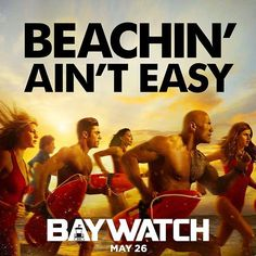 It's JAN 2nd and time to get after it. Every Monday from now until Memorial Day Weekend when our movie is released, we'll launch something new from #BAYWATCH.  Why Monday's? Because we're the only bad ass motivating movie that can tackle Monday's and make Monday's our beach.  #AvengersOfTheBeach #UltraTanned #AndHighlyDysfunctional #BAYWATCH MEMORIAL DAY WEEKEND