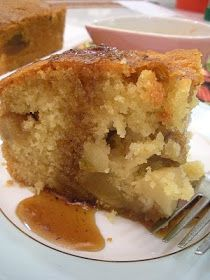 Apple-Butter Cake w/Caramel Sauce
