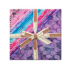 Island Batik Stacks 40 Ten Inch Squares All A Flutter. Hancocks of Paducah offers a wide selection of Fabric Square 10 Inch by Island Batik Fabric Squares, Fabric Strips, Hancocks Of Paducah, Summer Quilts, Purple Fabric, Cotton Quilting Fabric, Coordinating Fabrics, Quilt Kits, Fabulous Fabrics