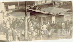 Em agost/1952,Visita ao restaurante do Serviço de Alimentação da Previdência Social (SAPS) no Rio de Janeiro (DF) e à 1º barraca do Serviço em São…