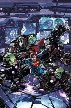 #Superman #Fan #Art. (JUSTICE LEAGUE. #17 Cover) By: FERNANDO PASARIN & MATT RYAN. (THE * 5 * STÅR * ÅWARD * OF: * AW YEAH, IT'S MAJOR ÅWESOMENESS!!!™)[THANK U 4 PINNING!!!<·><]<©>ÅÅÅ+(OB4E)