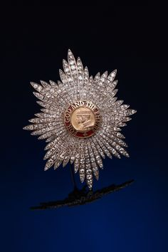 Order of the British Empire - Grand Cross diamond star (Princess Mary's ?) soon to be displayed in Tallinn's Museum of Orders of Knighthood