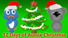 It's Christmas Time! Here's a special AUSTRALIAN version of the famous 12 days of christmas song. We hope you enjoy this Christmas Carol for children! Christmas Carols For Kids, Free Christmas Songs, Days Of Christmas Song, Aussie Christmas, Australian Christmas, Christmas Clipart, Christmas Music, 12 Days Of Christmas, Holiday Fun
