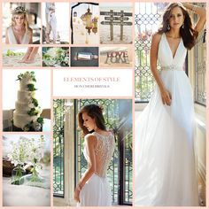 """Elements of Style """"Boho Chic Beach Wedding"""" by Mon Cheri features Sophia Tolli wedding dress fall 2014 collection-style Joanne. Fall Wedding Dresses, Perfect Wedding Dress, Designer Wedding Dresses, Boho Wedding, Bridal Dresses, Spring Weddings, Beach Weddings, Destination Wedding, Beach Wedding Inspiration"""