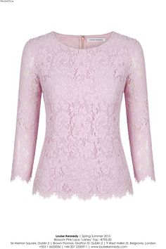 Our Lainey Blossom Lace Top.