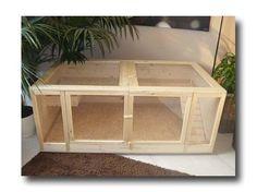 """Modell """"NATURAL LIVING"""" Kleintierkäfig – Das Heim für deine Lieblinge – Einfach aus Holz selber bauen   XOPPLA"""