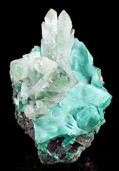 Malachite - I dug some of this up in Utah many moon ago with a friend - I still have it. Healing and soothing.