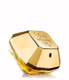 Paco Rabanne Lady Million Eau de Parfum #perfume_bottle #fragrance #design