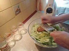 Sałatka z ogórków na zimę prosta i pyszna - YouTube