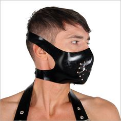 Latex muzzle mask by Blackstyle