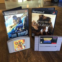 Curious one by retrogamerdad #supernintendo #microhobbit (o) http://ift.tt/2ep3Hvz some stuff in and got a few more favorites for the collection: Blast Corps Prince of Persia Soul Reaver 2 and Shadow of the Colossus. #Nintendo #PlayStation #Nintendo64 #SuperNintendo #N64 #SNES #PS2 #Retro #RetroGamer #VintageGames #VintageGaming #VideoGame #VideoGames #VideoGaming #VideoGameCollector #VideoGameCollection #Gamers #GamersOfInstagram #GamerDad #VideoGames #IgersNintendo #RetrendoGames #Igers…