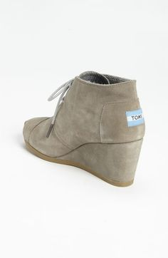 TOMS 'Desert' Bootie (Women) | Nordstrom **Tried these on the other day they are so comfortable**