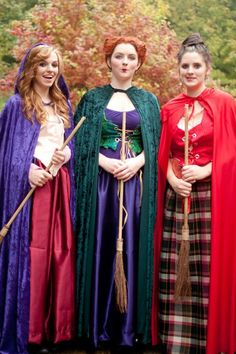 Our Hocus Pocus costumes for Halloween this year :)