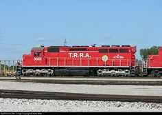 RailPictures.Net Photo: TRRA 3002 Terminal Railroad Association of St. Louis EMD SD40-3 at Venice, Illinois by Keith Belk
