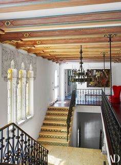Best Interior Design Projects by Jacques Grange Spanish Style Homes, Spanish House, Spanish Revival, Architectural Digest, Hacienda Style, Mediterranean Home Decor, Best Interior Design, French Interior, Florida Home