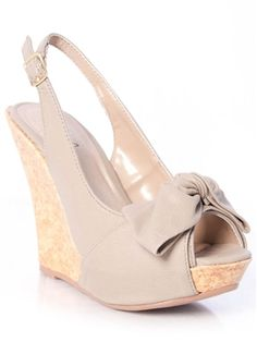 Nude wedges are a MUST HAVE for every girl!