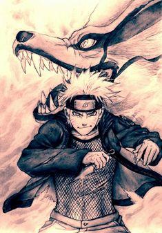 This drawing is so good! #naruto #uzumaki