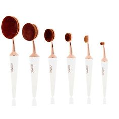 NEW EVO COMPLETE MAKEUP BRUSH FACE SET WHITE