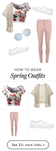 """Spring outfit"" by jennisa-penner on Polyvore featuring Dorothy Perkins, Victoria's Secret, Vans, women's clothing, women's fashion, women, female, woman, misses and juniors"