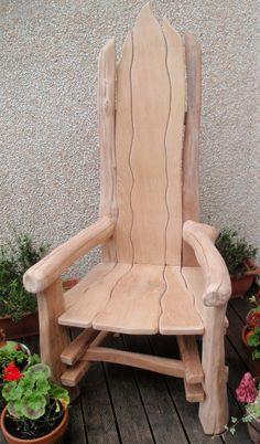 Rustic Chair Story Tellers Chair