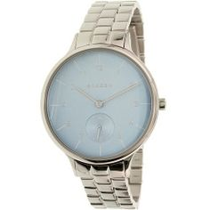 Skagen Women's Anita SKW2416 Silver Stainless-Steel Quartz Watch